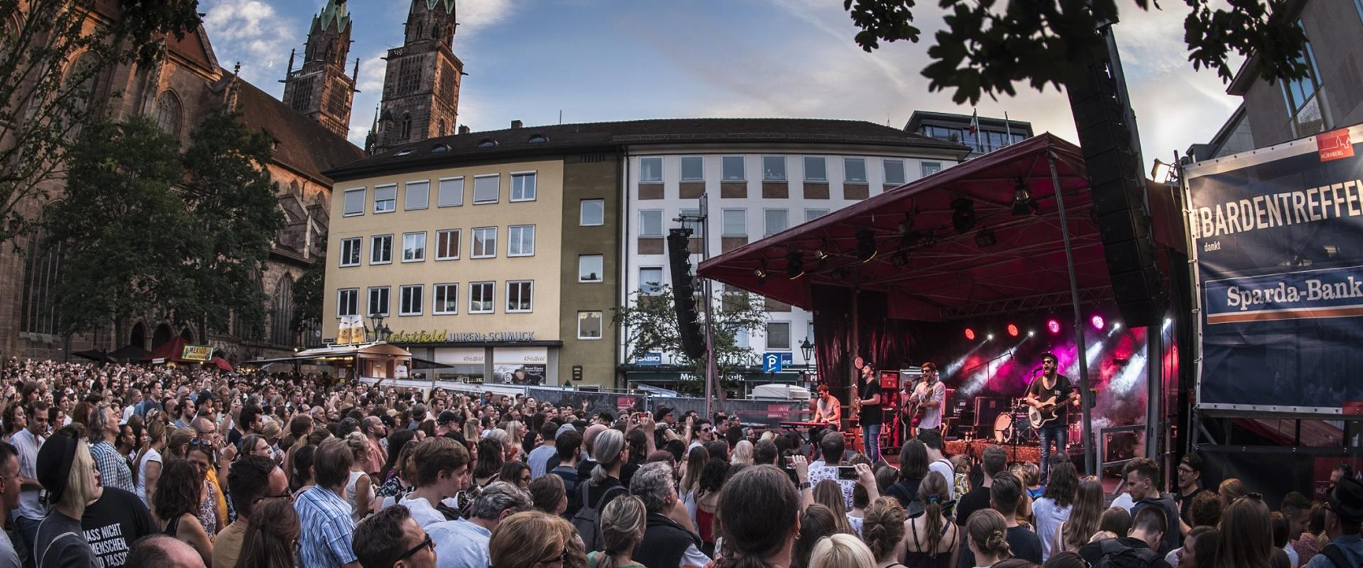 Start des Sparda-Band-Votings – Bardentreffen 2019